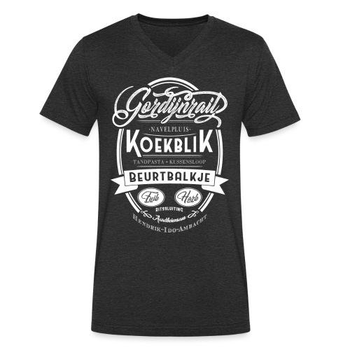 Koekblik - Mannen bio T-shirt met V-hals van Stanley & Stella