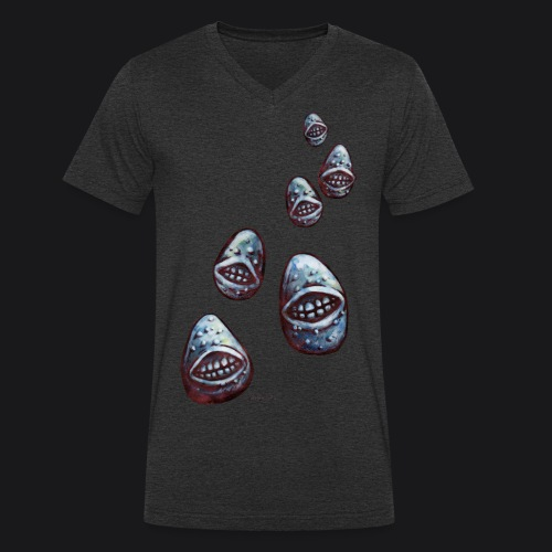 potatoes attack - T-shirt bio col V Stanley & Stella Homme
