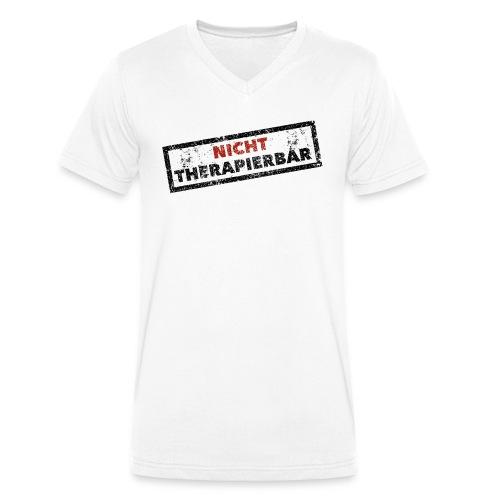 Nicht therapierbar - Männer Bio-T-Shirt mit V-Ausschnitt von Stanley & Stella