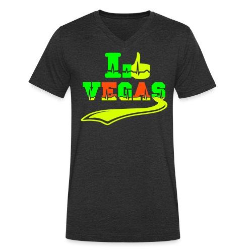 I LIKE Las Vegas - Men's Organic V-Neck T-Shirt by Stanley & Stella