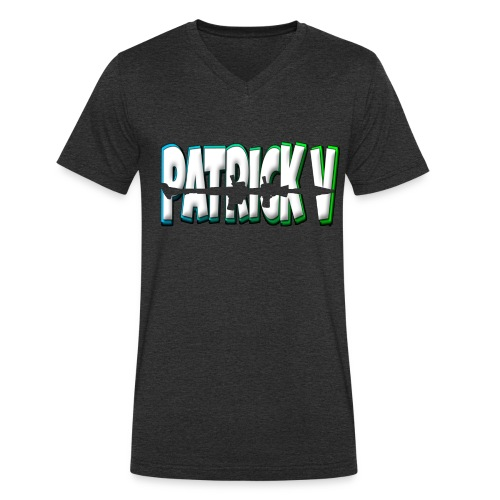 Patrick V Name - Men's Organic V-Neck T-Shirt by Stanley & Stella