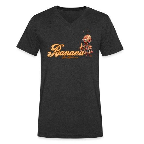Banana Robot! 🍌 - Økologisk Stanley & Stella T-shirt med V-udskæring til herrer