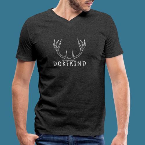 Dorfkinder - Männer Bio-T-Shirt mit V-Ausschnitt von Stanley & Stella