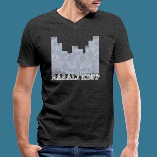 Basaltkopp - Männer Bio-T-Shirt mit V-Ausschnitt von Stanley & Stella