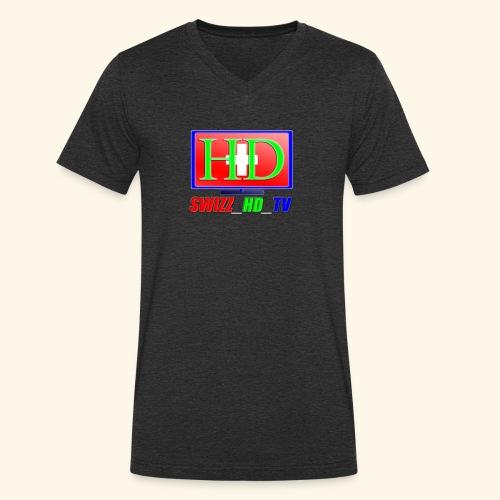 SWIZZ HD TV - Männer Bio-T-Shirt mit V-Ausschnitt von Stanley & Stella