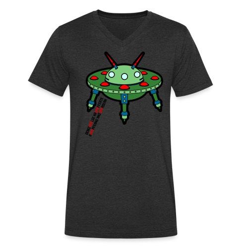 Ufo - Männer Bio-T-Shirt mit V-Ausschnitt von Stanley & Stella