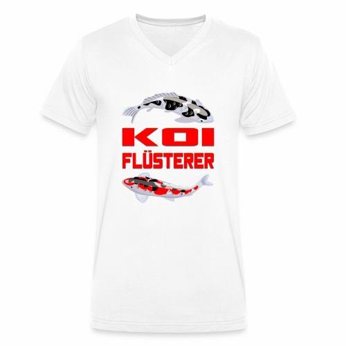 Koi Flüsterer - Männer Bio-T-Shirt mit V-Ausschnitt von Stanley & Stella