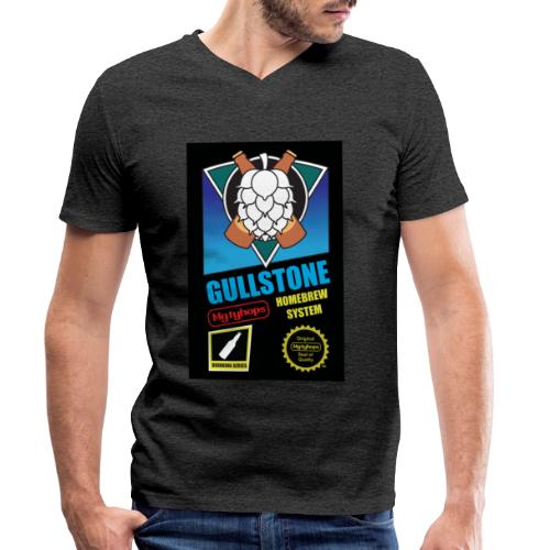MGTY HOPS GAME - Ekologisk T-shirt med V-ringning herr från Stanley & Stella