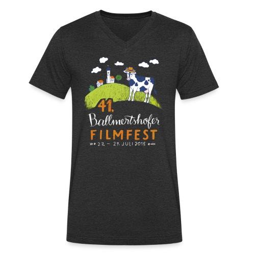 41. Filmfest - Männer Bio-T-Shirt mit V-Ausschnitt von Stanley & Stella