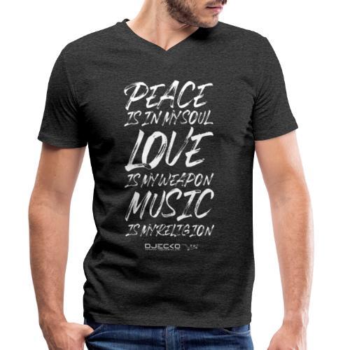 Djecko 001 - T-shirt bio col V Stanley & Stella Homme