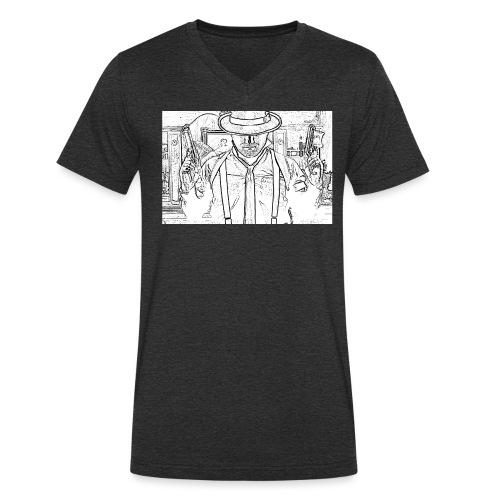 TICAPON - Männer Bio-T-Shirt mit V-Ausschnitt von Stanley & Stella