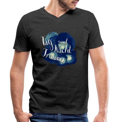 Tag- und Nachtträumer - Männer Bio-T-Shirt mit V-Ausschnitt von Stanley & Stella