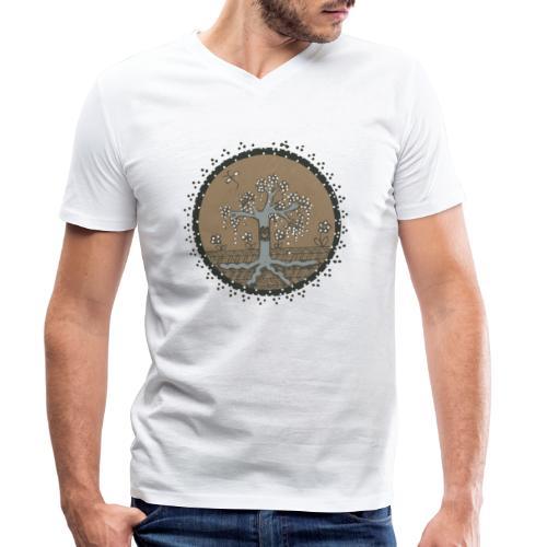 L'arbre Zen - T-shirt bio col V Stanley & Stella Homme
