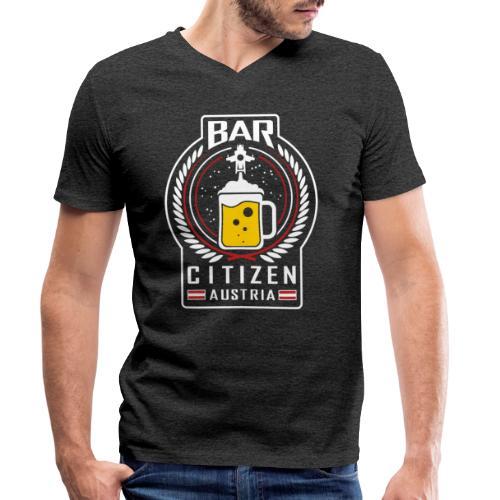 BarCitizenAustria Logo - Männer Bio-T-Shirt mit V-Ausschnitt von Stanley & Stella