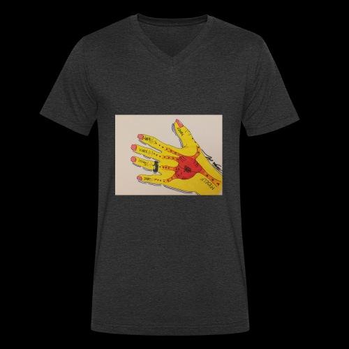 9D8D600F D04D 4BA7 B0EE 60442C72919B - Økologisk Stanley & Stella T-shirt med V-udskæring til herrer