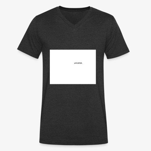 UNIVERSE BRAND SPONSOR - T-shirt ecologica da uomo con scollo a V di Stanley & Stella