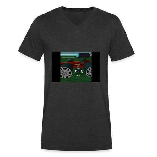 Roblox - Männer Bio-T-Shirt mit V-Ausschnitt von Stanley & Stella