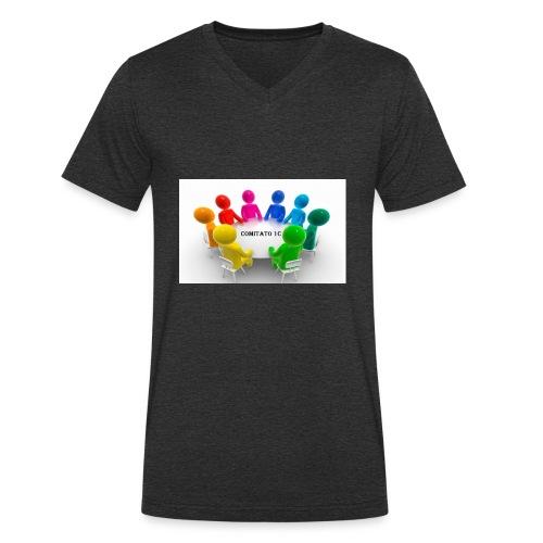 comitato 1c - T-shirt ecologica da uomo con scollo a V di Stanley & Stella