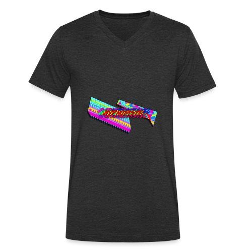 Hypnotastic - Men's Organic V-Neck T-Shirt by Stanley & Stella
