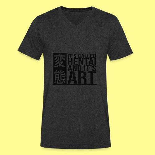 It's called HENTAI and it's ART - T-shirt ecologica da uomo con scollo a V di Stanley & Stella