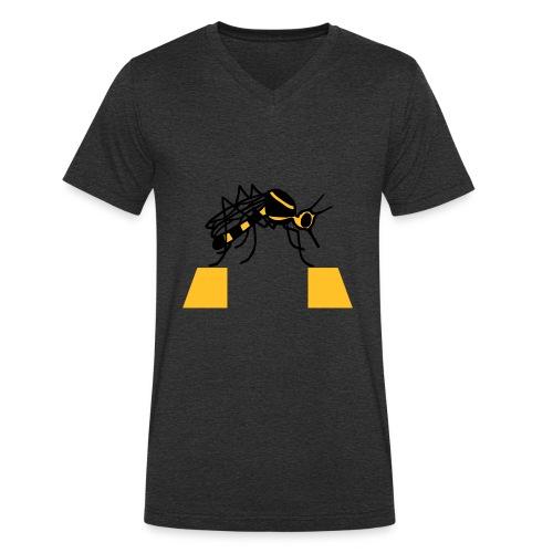 Zanzarra - T-shirt ecologica da uomo con scollo a V di Stanley & Stella