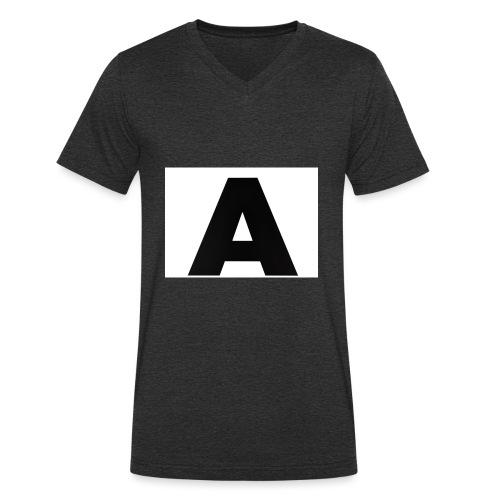 A-685FC343 4709 4F14 B1B0 D5C988344C3B - Økologisk Stanley & Stella T-shirt med V-udskæring til herrer