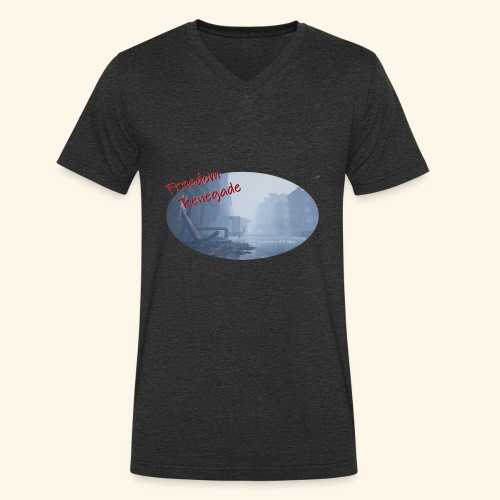 to survive is all it takes - Men's Organic V-Neck T-Shirt by Stanley & Stella