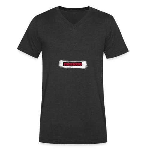 FriikGG - Økologisk T-skjorte med V-hals for menn fra Stanley & Stella