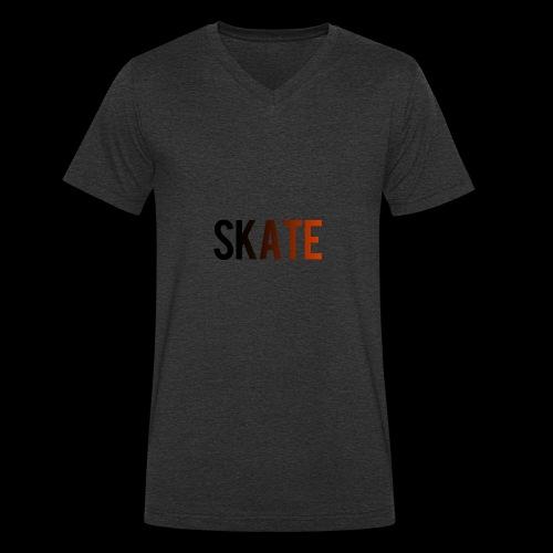 SKATE - Mannen bio T-shirt met V-hals van Stanley & Stella