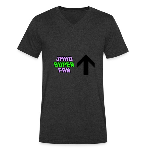 JMHD super fan - Men's Organic V-Neck T-Shirt by Stanley & Stella