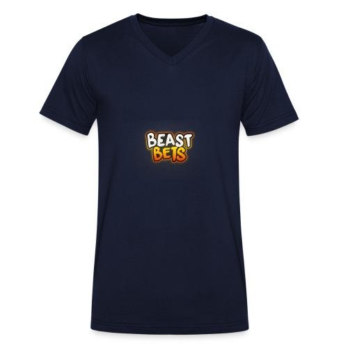 BeastBets - Økologisk Stanley & Stella T-shirt med V-udskæring til herrer