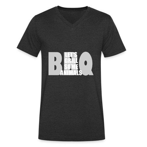 BBQ - Männer Bio-T-Shirt mit V-Ausschnitt von Stanley & Stella