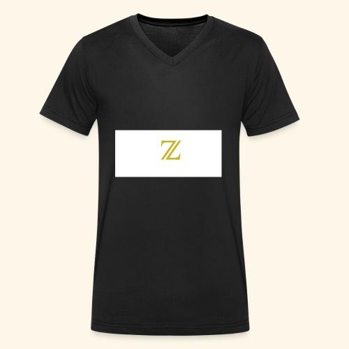 zaffer - T-shirt ecologica da uomo con scollo a V di Stanley & Stella