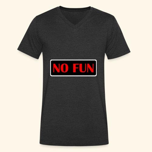 no fun - Økologisk Stanley & Stella T-shirt med V-udskæring til herrer