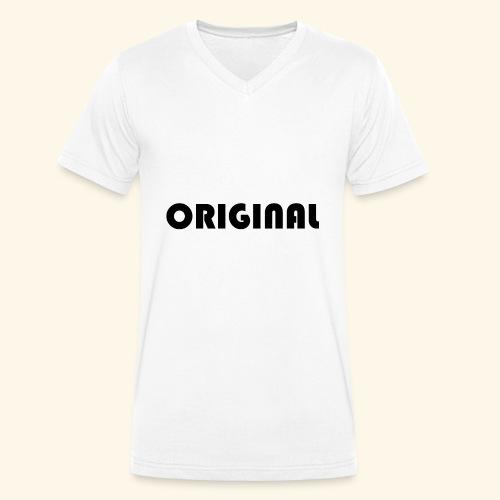 Original - Camiseta ecológica hombre con cuello de pico de Stanley & Stella