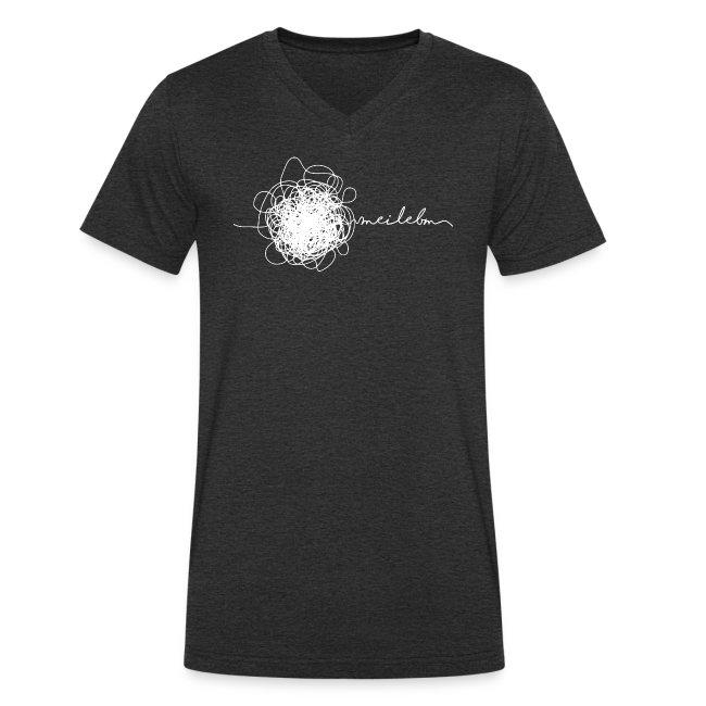 Vorschau: mei lebm - Männer Bio-T-Shirt mit V-Ausschnitt von Stanley & Stella