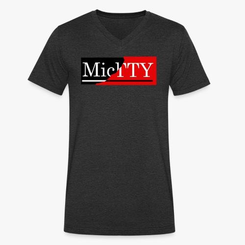 Casual logo - Camiseta ecológica hombre con cuello de pico de Stanley & Stella