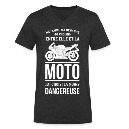 ET TOI QUE CHOISIS TU ? - T-shirt bio col V Stanley & Stella Homme