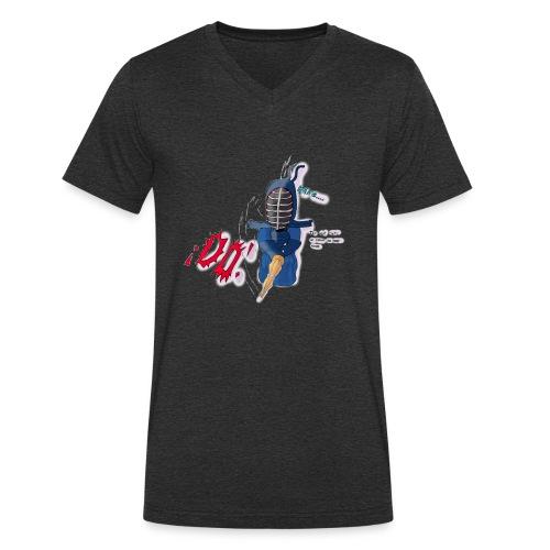 kendoDO - Camiseta ecológica hombre con cuello de pico de Stanley & Stella