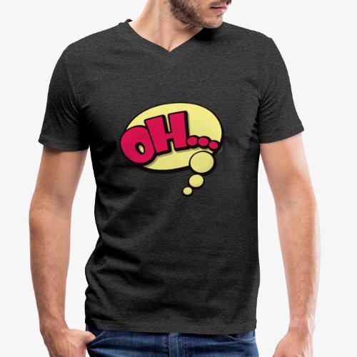 Serie Animados - Camiseta ecológica hombre con cuello de pico de Stanley & Stella
