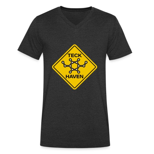 TECK HAVEN - Men's Organic V-Neck T-Shirt by Stanley & Stella