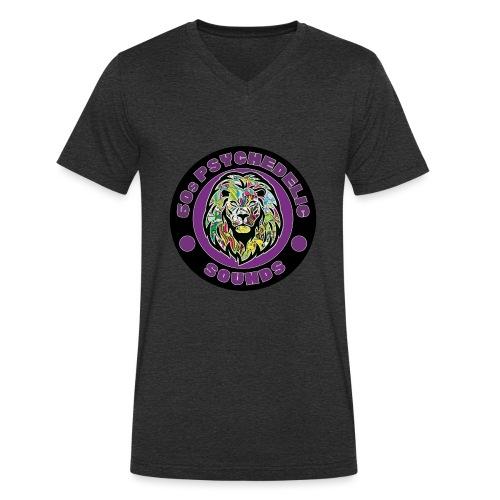 leon1 - Camiseta ecológica hombre con cuello de pico de Stanley & Stella