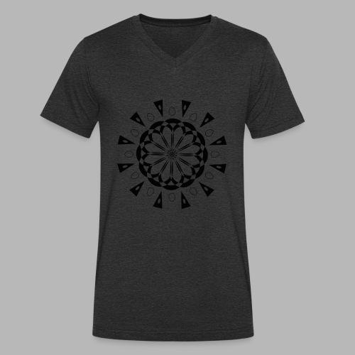 Mandala - T-shirt bio col V Stanley & Stella Homme