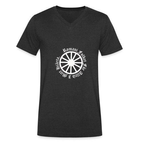 626878 2406639 lennyhjulromanifolketivit orig - Ekologisk T-shirt med V-ringning herr från Stanley & Stella