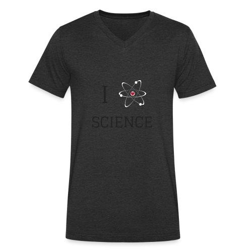 I love science - T-shirt bio col V Stanley & Stella Homme