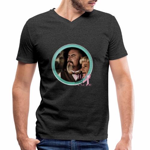 Fight against Cancer - Männer Bio-T-Shirt mit V-Ausschnitt von Stanley & Stella