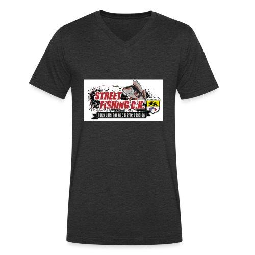 StreetFishing DK - T-shirt bio col V Stanley & Stella Homme