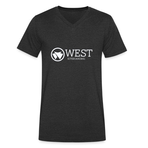 West Kiteboarding - Männer Bio-T-Shirt mit V-Ausschnitt von Stanley & Stella