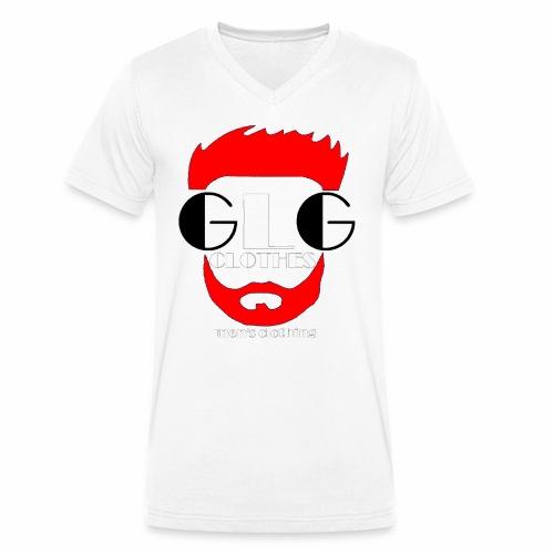 LOGO ROUGE png - T-shirt bio col V Stanley & Stella Homme