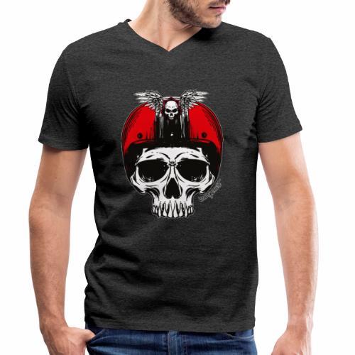 Riders - T-shirt ecologica da uomo con scollo a V di Stanley & Stella